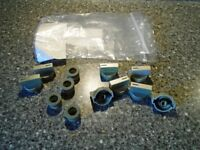 WATERFORD STANLEY COMPACT COOKER BOILER SPARE PARTS-8 COOKER KNOBS & 4 GROMMETS