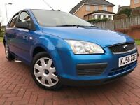 *6 MTHS WARRANTY*ONLY 69,000 MILES WITH A SERVICE RECORD*2006(56)FORD FOCUS 1.4 LX 5DR HATCH*