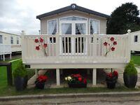 Primrose Valley- Platinum 6 berth holiday caravan to rent