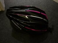 Black Bicycle Bike Helmet - Size M - Padded - New