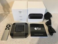 Apple TV 3rd Gen rev 2 with Remote - A1469 (NEW A5 CORE) - the newest version.