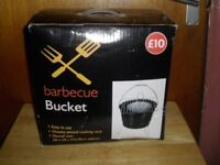 2 BARBECUE BUCKETS BRAND NEW IN BOX £8 EACH