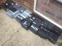 270kg LEAD BATTERIES SCRAP - £190 THE LOT
