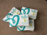 Pampers size 2 (3 and a half packs)
