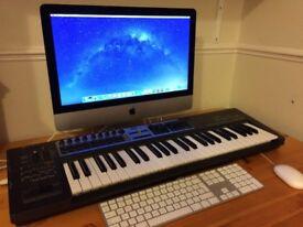 Apple iMac Slim 2014 Excelent Cond. intel i5 / 8GB Ram / 1TB HDD / Logic Pro X / Desktop PC Computer