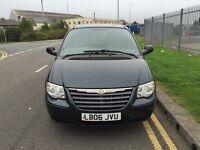7 seats Diesel Chrysler Voyage 06 reg 12 months Mot ,twin sliding doors lots of room px welcome