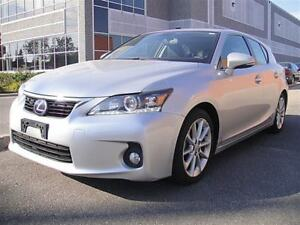 2013 Lexus CT 200h SUNROOF, LEATHER, TOYOTA SAFETY