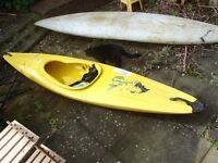 KAYAKS - Two old kayaks - £100 each or £175 for both. Need a clean.