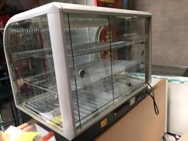 Lincat C6H/100B hot good display cabinet
