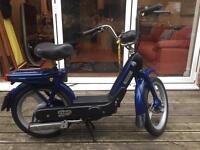 Enjoy the summer! Piaggio Vespa px Ciao 49cc Moped Blue