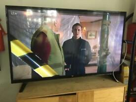 50 inch bush freeview full HD tv for sale