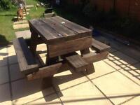 Lovely Sturdy Garden Bench