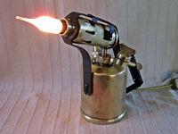 Brass Blow Torch Lamp