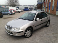 AUTOMATIC ROVER 25 5 DOOR. LOW MILEAGE. CD PLAYER. EXCELLENT DRIVE. SOLID CHEAP RUN AROUND
