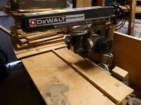 DeWalt radial Arm Saw DW1201