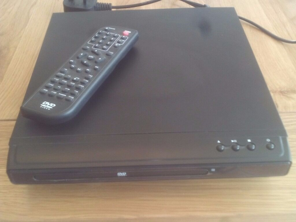 Tesco dvd player with remote control