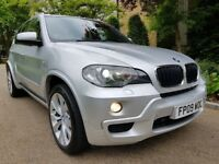 BMW X5 3.0D M SPORT FULL SERVICE HISTORY12 MONTHS MOT, SAT-NAVIGATION XENON LIGHTS PERFECT CONDITION