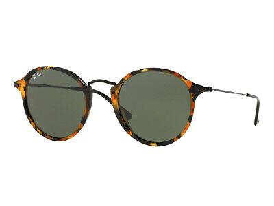 Sonnenbrille Ray Ban ROUND klassisch RB2447 Vintage grün g15 Havanna 1157