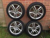 "Alloy wheels genuine 18"" Audi A6 sline"