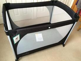 Joie allura travel cot and separate padded mattress