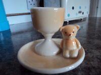 TEDDY BEAR EGG CUP.