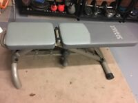 York fitness / Marcy barbell weights and bench