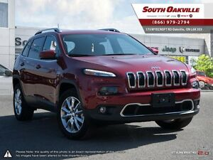 2016 Jeep Cherokee Limited | 4X4 | HEATED LEATHER | NAVIGATION