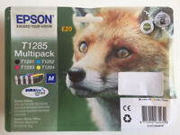 Epson T1285 Multipack Printer Ink, for Stylus Printers