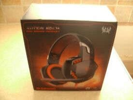 bran new 3.5mm Gaming Headset LED Headphones Stereo Surround for Lapop PS3 PS4 Xbox