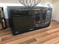 Samsung black microwave