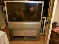 "50"" LCD rear view projection tv"