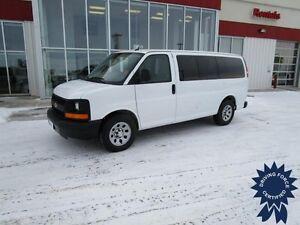 2013 Chevrolet Express G1500 LS AWD 8 Passenger Van