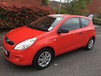 Hyundai i20, 2010, 1.2L engine, FULL SERVICE HISTORY, 10 months MOT. Family owned from new.