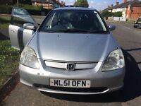 Honda Civic executive automatic for sale