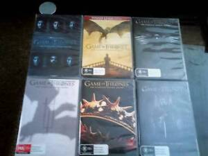 GAME OF THRONES SEASONS 1 to 6  ( 30 DVDS ) Bellbird Cessnock Area Preview