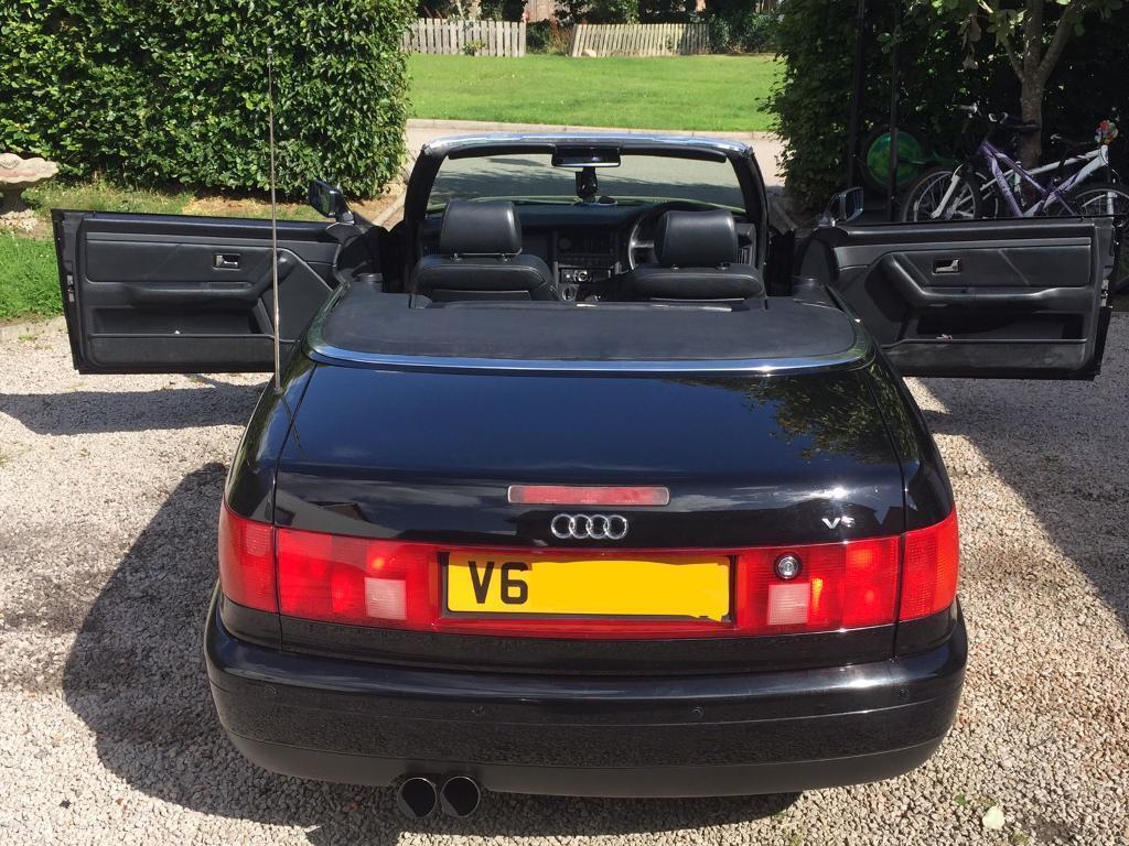 Audi Cabriolet Original 1999 V6 80 Not Quattro