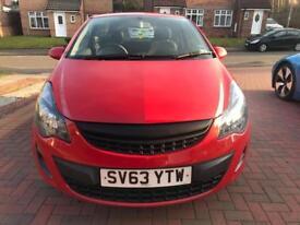 Vauxhall Corsa S ecoflex 1.0 petrol 2013 3dr £30 year road tax low mileage