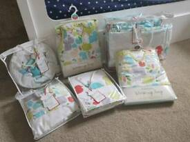 Nursery bedding bundle