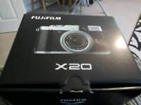 Collectible Fuji x20 compact camera in immaculate condition