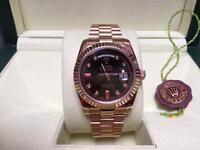 Men's Rolex DayDate Swiss ETA 2836