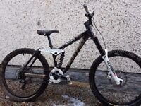 2010 kona stinky downhill bike