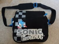 Sonic the hedgehog console carry bag