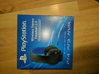 Brand new sealed boxed playstation wireless headset