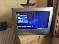 Tv and DVD combi 22 inch