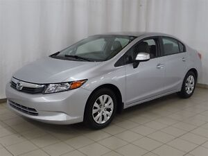 2012 Honda Civic LX, Garantie Honda Plus Fév. 2018/100000Kms