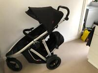 Phil & Teds Vibe with Double Kit & Accessories excellent condition