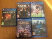 PS4 bundle of games minecraft need for speed call of duty