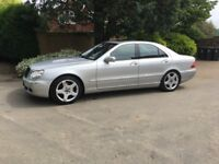 Mercedes S350 -Automatic - air con - alloys - electric glass sun roof - blue tooth