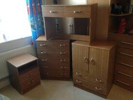 Childrens bedroom furniture - Woodgrain finish