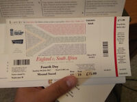 Test Match Ticket: Lord's-England vs South Africa 4th Day (9July)
